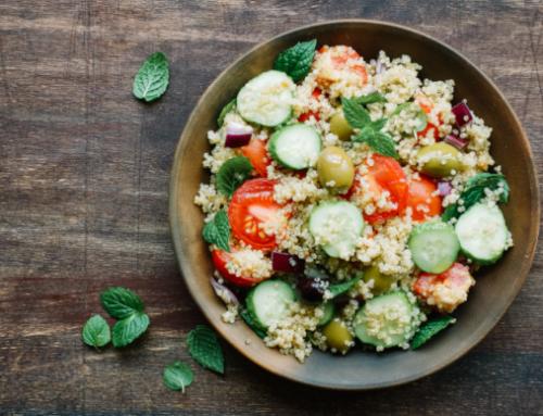 Insalata sfiziosa di quinoa
